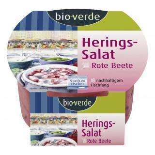 Herings-Salat Rote-Beete