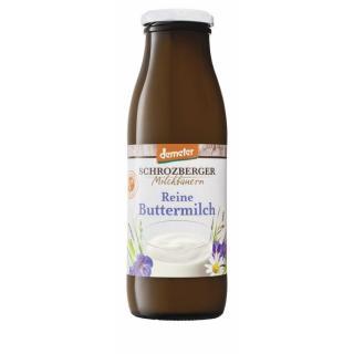 Buttermilch 0,5l Flasche