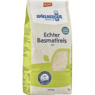 Reis Basmati, weiß