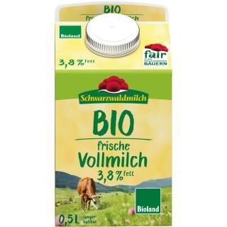 Schwarzwälder Milch 0,5 Liter (3,8%Fett)