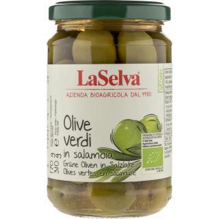 Grüne Oliven (in Salzlake)