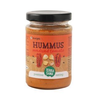 Hummus mit sonnengetr. Tomaten