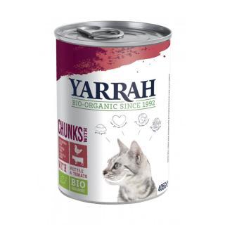 Katzenfutter - Bröck.Huhn+Rind