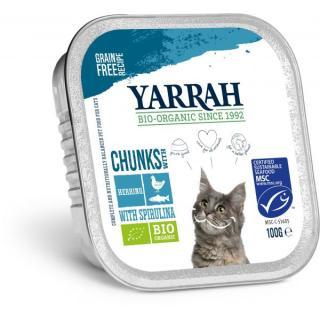 Katzenfutter: Huhn + Makrele in Alu